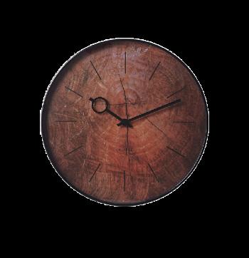 Wandklok Wood #hout #klok #accessoire