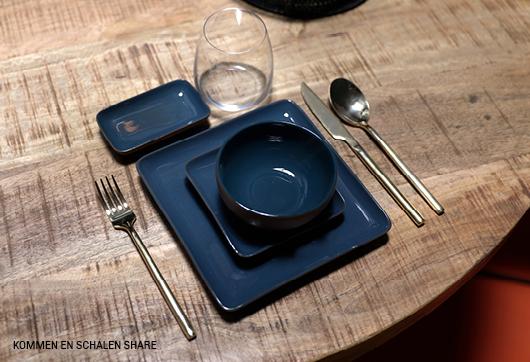 Tafel dekken met servies en bestek #Trendhopper #eten #shareddinging