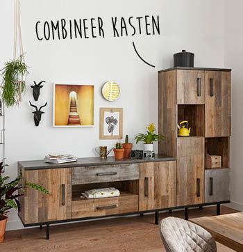 Guto broodkast en dressoir zijn moderne kasten van woonwinkel budget home store