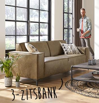 Leren Bankstel 25 Zits.Tips Bank Kopen Budgethomestore Nl