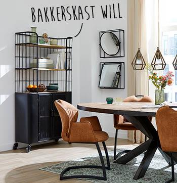 Will bakkerskast is een trendy kast van woonwinkel budget home store