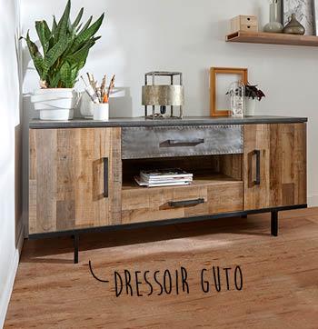 Guto dressoir is een moderne kast van woonwinkel budget home store
