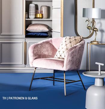 inspiratie trends tips van trendhopper colorblocking en patronen in het lente interieur #kast #fauteuil