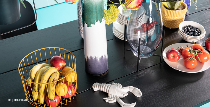inspiratie trends tips van trendhopper jungle botanical en tropical in het lente interieur #tafel #accessoires
