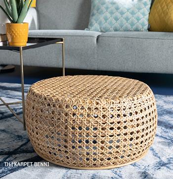 inspiratie trends tips van trendhopper: Karpet Benni in het lente interieur