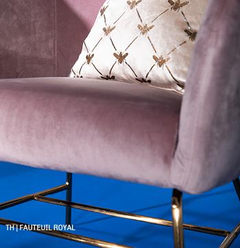 inspiratie trends tips van trendhopper: fauteuil Royal in het lente interieur