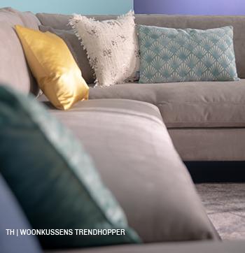inspiratie trends tips van trendhopper: kussens in het lente interieur