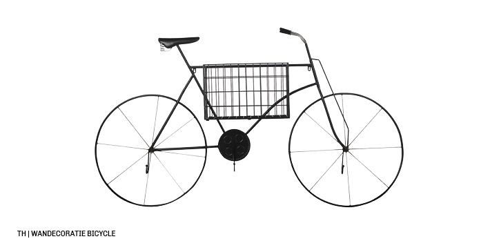 inspiratie voor wanddecoratie en muurdecoratie bij trendhopper_wanddeco bicycle2