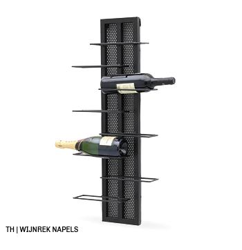 inspiratie voor wanddecoratie en muurdecoratie bij trendhopper_wijnrek napels