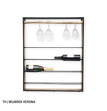 inspiratie voor wanddecoratie en muurdecoratie bij trendhopper_wijnrek verona