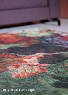 Vloerkleed Bouquet #karpet #bloemen #trendhopper